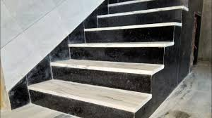 marble stairs how look black and white indian marble and granite staircase design