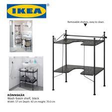 Under Sink Shelves by Ikea Rönnskär Wash Basin Shelf Bathroom Storage Shelve Under Sink