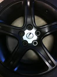 lexus wheels powder coated painted stock rims pictures need opinions lexus is forum
