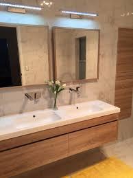 bathroom cabinets timber wood grain wall hung wall hung bathroom