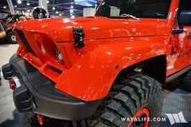 jeep kaiser custom 2016 sema bawarrion jeep jk wrangler unlimited