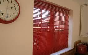 red aluminium venetian blind kitchen surrey blinds u0026 shutters