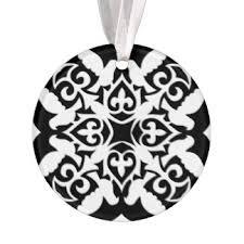 black moroccan ornaments keepsake ornaments zazzle