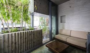 The Origami Inspired Folding Bamboo House Inhabitat Sustainable Design Innovation Eco - giant bamboo planters protect a ho chi minh city home from the sun