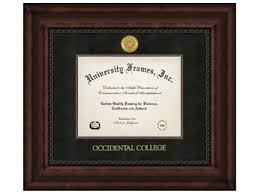 college diploma frames diploma frame executive w black suede mat occidental college