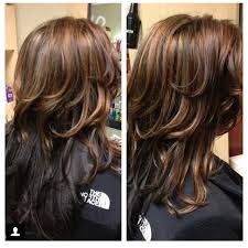long brown hairstyles with parshall highlight 32westsalon sara s instagram posts pinsta me instagram online