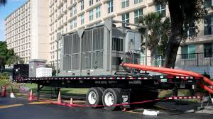 120 ton air cooled rental project tampa bay trane rental services