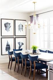dining room paint ideas dining room blue dining room with large gallery wall 20 modern