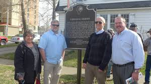 saline county u0027s newest historical marker honors actress virginia