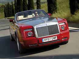 roll royce red rolls royce phantom drophead coupe 2008 pictures information