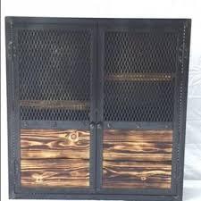 Metal Bar Cabinet Custom Liquor Cabinets Custommade Com