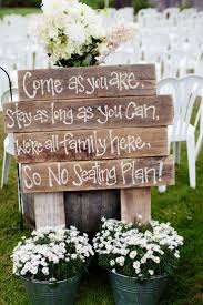 garden wedding reception ideas lovely rustic ceremony sign amys