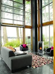 Garage Living by Double Height Living Room Windows Google Search Loft Living