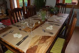kitchen table setting ideas decorations table decoration ideas for dinner party everyday table