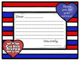 Thank You Letter Veterans thank a veteran patriotic thank you letter template for veterans day