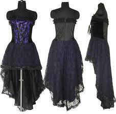 gothic corset wedding dress prom purple halloween custom made us