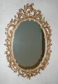 syroco wood composite mirror with ornate scroll from artgate on
