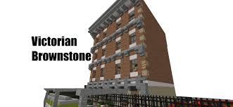 minecraft showcase victorian brownstone youtube