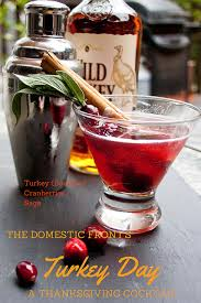 Cranberry For Thanksgiving Turkey Day Cocktail U2022the Domestic Front