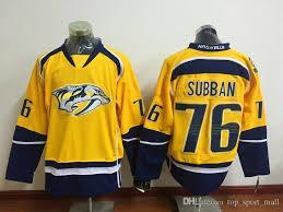 2018 2016 latest nashville predators pk subban ice hockey jerseys