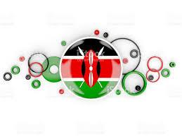 Images Kenya Flag Round Flag Of Kenya With Circles Pattern Stock Vector Art