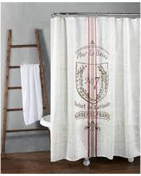 Le Bain Bathroom Accessories by Spring Special Pour Le Bain Printed Shower Curtain Natural