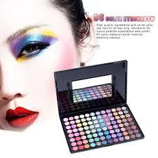 wedding makeup set 96 color fashion eyeshadow makeup palette set warm color cosmetic kit