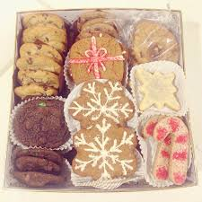 holiday cookie gift box sale