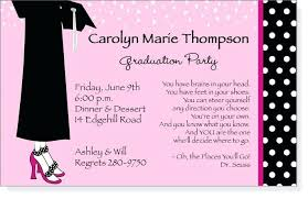 what to write on a graduation announcement best of graduation party invitations sles and college