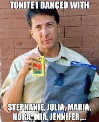 Jennifer Meme - tonite i danced with stephanie julia maria nora mia jennifer