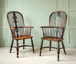 Windsor Armchairs Yew Wood Windsor Armchairs 19th Century Early Oak At Wysdom Hall