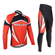 waterproof bike suit arsuxeo men sports cycling clothes bike bicycle suits jersey long