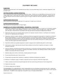 Sample Resume For Career Change by Cover Letter Examples Machine Operator