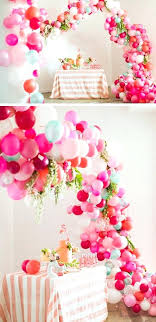 babyshower decorations baby shower ideas decorations for make a balloon arch baby