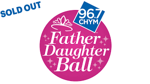 8th annual chym father daughter ball chym 96 7