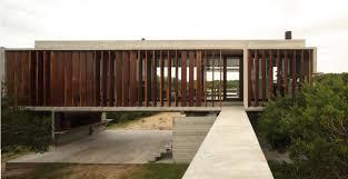brilliant architecture of costa esmerelda residence near wooden