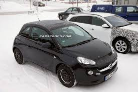 opel adam 2016 scoop another close look at the new opel adam cabrio