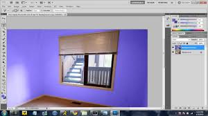 design and paint rooms using photoshop cs5 voice tutorial youtube