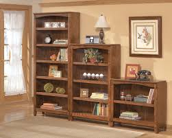 Narrow Wooden Bookcase by Furniture Exciting Target Bookcases With Brown Wooden Material
