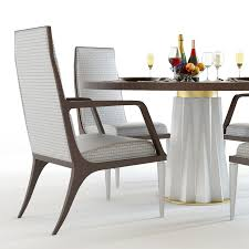 Baker Dining Room Chairs Baker Heliodor Table U0026 Jasper Chairs