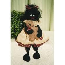 felt golliwog pattern sweet little golly doll bear pattern golliwog golly doll