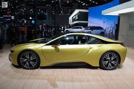 bmw i8 gold bmw i8 frozen yellow edition live photos from shanghai
