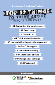 Think Before You Text Your - think before you post digital citizenship