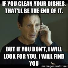 Washing The Dishes Meme - why can t you just do the dishes the right way i think my mom