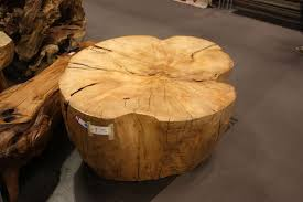 Wood Stump Coffee Table Rustic Coffee Tables Enchant The World With Their Simplicity