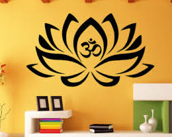 Wall Stickers For Bedrooms Interior Design Mandala Wall Decal Etsy