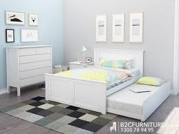 Affordable Kids Bedroom Furniture Furniture Home Double Bed With Trundle Brown Kids Bedroom