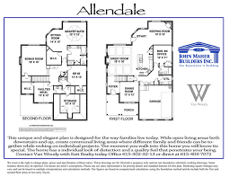 allendale plan in benevento new homes of spring hill tn