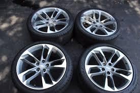 camaro flat tire 4 2017 2018 chevy chevrolet camaro 50th anniversary 20 oem 275 35