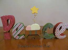talented terrace girls diy thursday peace craft from crafty wood